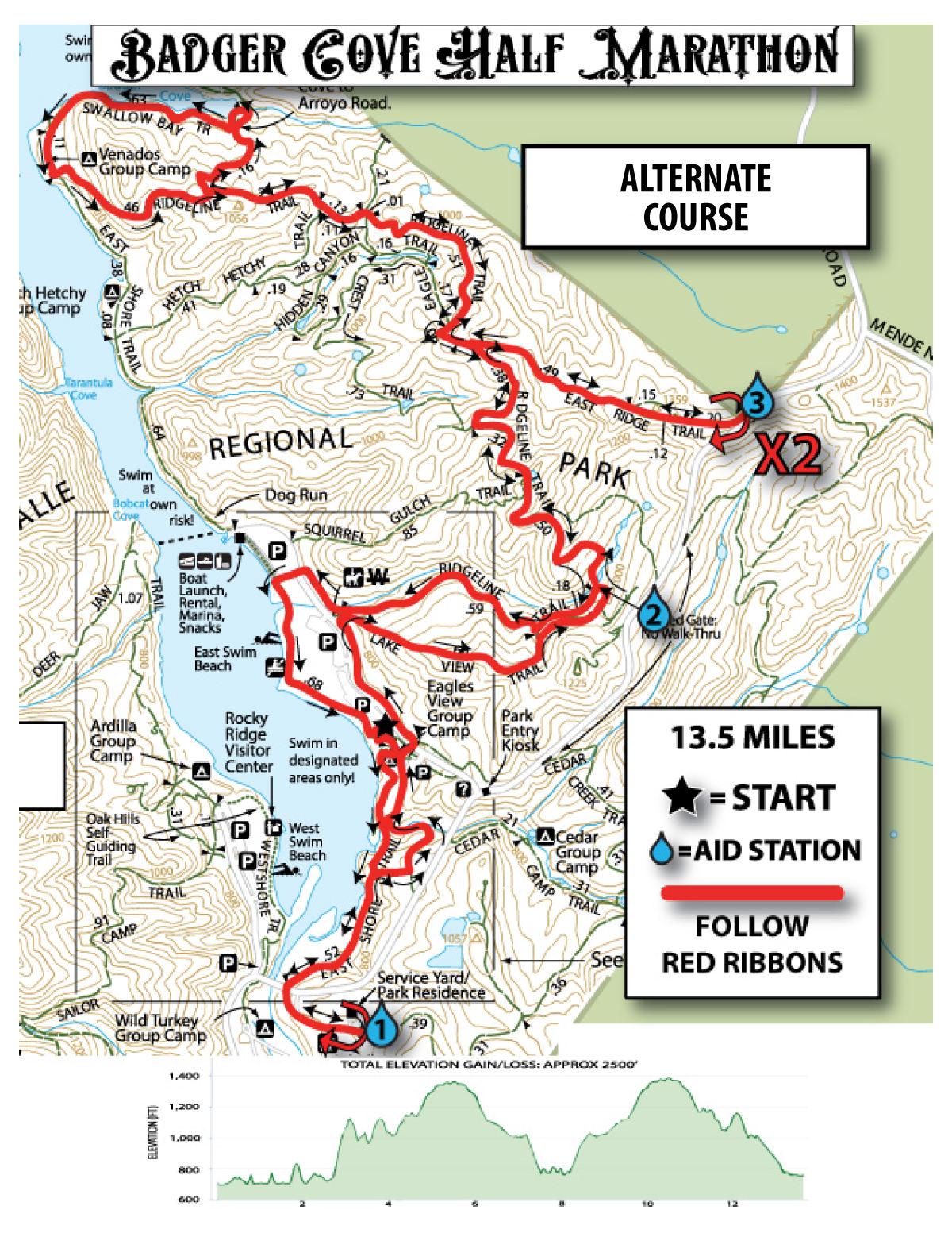 Race Info Badger Cove Brazen Racing